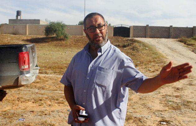 Ramadan Abedi à Tripoli en Libye le 24 mai