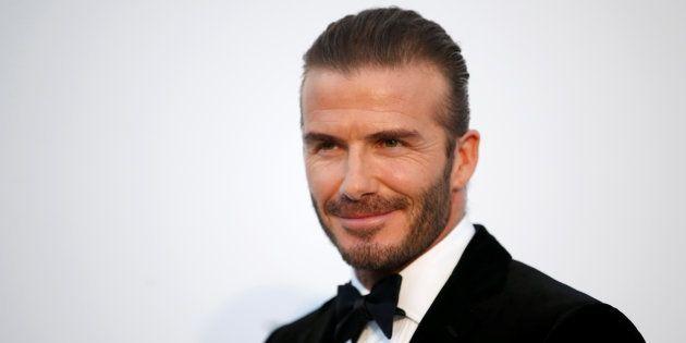 David Beckham à son arrivée au gala amfAR 2017 le 25 mai