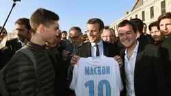 Fan de foot (mais pas du PSG), Macron ne pouvait pas rater la finale de la Coupe de