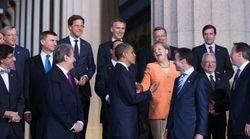 Le photographe d'Obama trolle Trump sur sa bousculade avec cette vieille