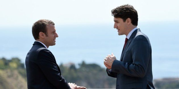 Les photos de Justin Trudeau et Emmanuel Macron au G7 ont fait rêver les plus