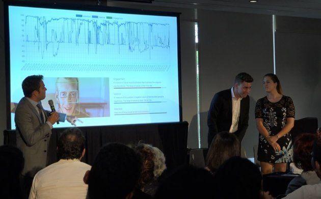 La présentation de Nestor lors d'un événement organisé par