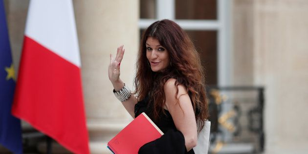 Marlène Schiappa à l'Elysée le 24 mai
