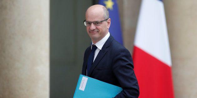 Le ministre de l'Education Jean-Michel Blanquer fixe son