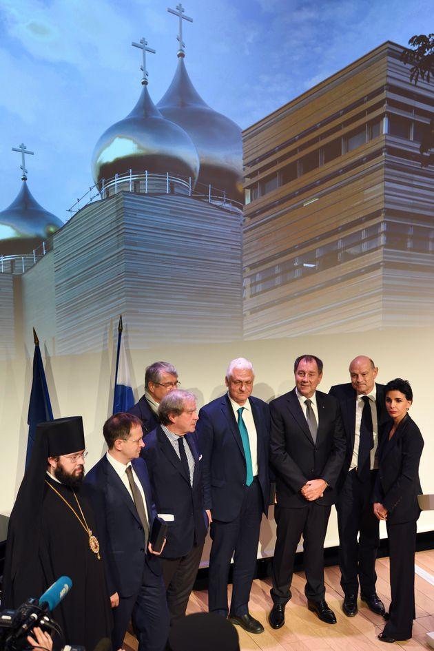 L'inauguration du centre culturel et spirituel orthodoxe de Paris, le 19