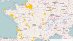La carte en temps réel des stations-service en pénurie d'essence près de chez
