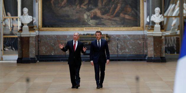 Macron - Poutine, un duel de références historiques à fleurets