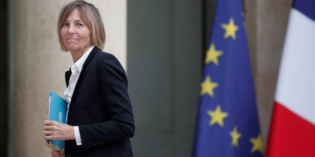 La ministre des Affaires européennes MarielledeSarnez arrive à l'Élysée pour le conseil des ministres...
