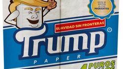 S'essuyer avec ce papier toilette Trump aide les migrants