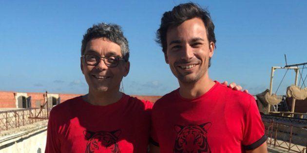 Thierry Moreau et Bertrand Chameroy dans la même équipe à Fort