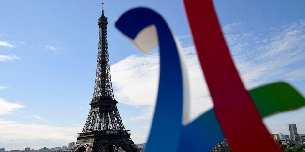 Le logo de la campagne de Paris pour les Jeux olympiques