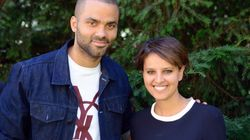 Najat Vallaud-Belkacem reçoit le soutien de Tony Parker pour les