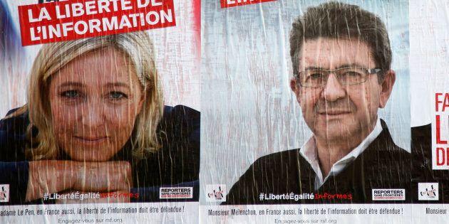 Comment le Front national et la France insoumise a gagné la bataille de l'opinion face au PS et