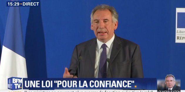 Loi Bayrou: ce que contiennent les textes pour la moralisation de la vie