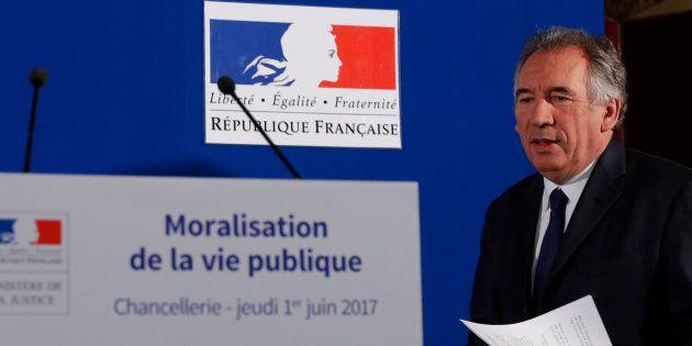 Bayrou annonce la création