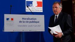 Bayrou annonce la création d'une
