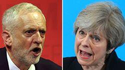 Theresa May et Jeremy Corbyn au coude à coude pour les législatives selon un