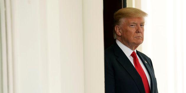 Donald Trump à la Maison Blanche le 31 mai. REUTERS/Kevin