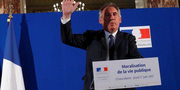 François Bayrou a présenté les lois de moralisation de la vie