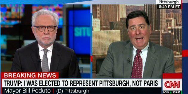 La réponse cinglante du maire de Pittsburgh à Trump qui cite la ville pour justifier sa