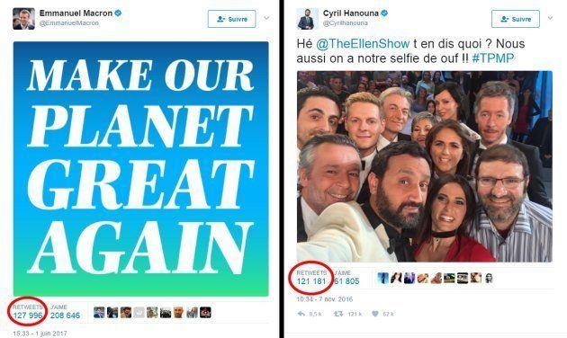 Avec ce tweet qui trolle Donald Trump, Emmanuel Macron détrône Cyril
