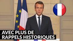 Les subtiles différences entre le discours de Macron en anglais et en français n'ont rien