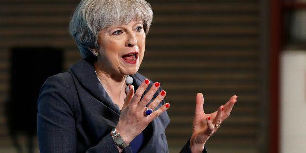 Theresa May dit avoir