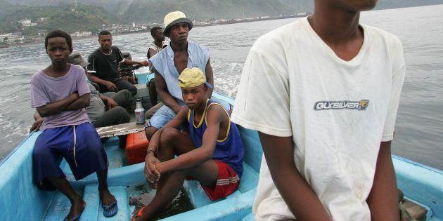 Les kwassas kwassas, frêles embarcations très connues à Mayotte, ont fait des milliers de victimes parmi...