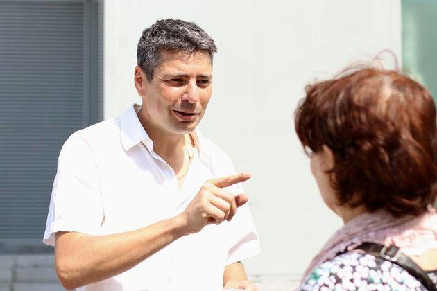 François Cocq, candidat aux législatives dans le