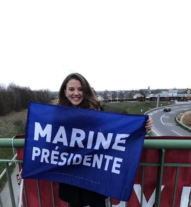 Justine Dieulafait, candidate aux législatives en
