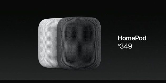 Apple présente HomePod, sa nouvelle enceinte qui fait aussi assistant