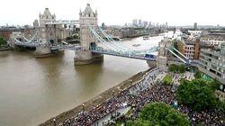 Les images de la veillée de Londres en hommage aux