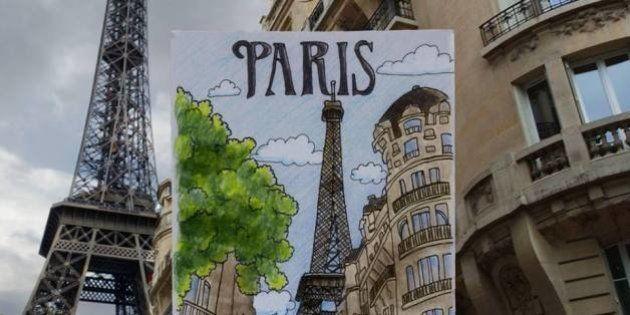 VIDÉO. Un récit de voyage en Europe à découvrir grâce à de superbes dessins animés en stop