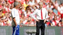 Wenger n'avait pas vraiment envie de serrer la main de