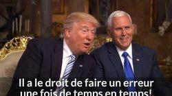 La première interview de Trump et Pence a de quoi donner des sueurs froides au