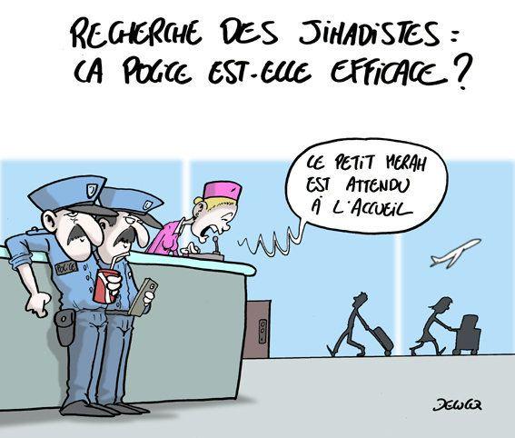 Jihadistes: la police est sur le