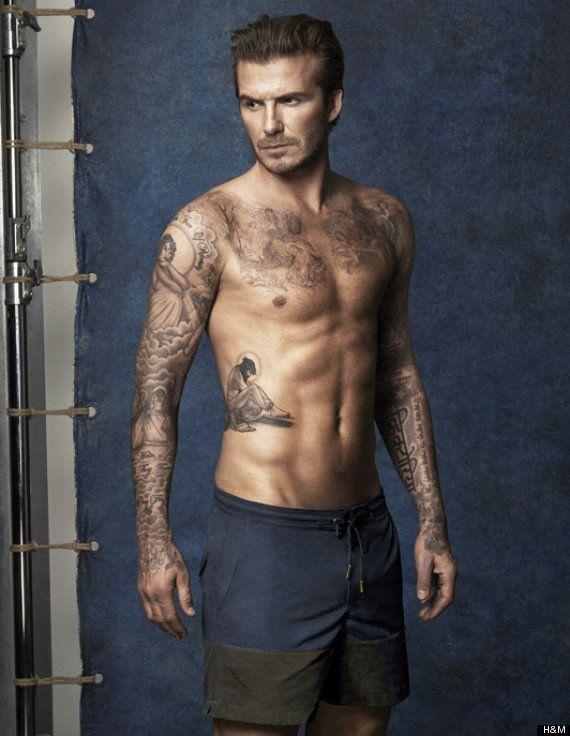 David Beckham torse nu: Quand l'ex-footballeur a une folle envie de se baigner pour