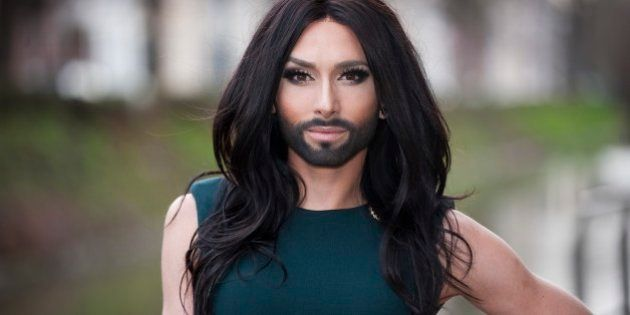 GHENT, BELGIUM - JANUARY 18: (FRANCE OUT,BELGIUM OUT,NETHERLANDS OUT) Singer Conchita Wurst aka Tom Neuwirth...