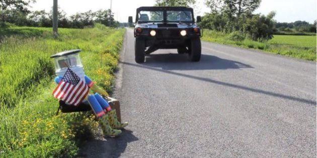 Les États-Unis en stop: l'aventure du robot autostoppeur arrêtée net après avoir été