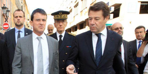 Manuel Valls demande à Christian Estrosi de