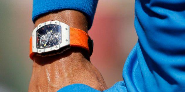 Rafael Nadal à Roland Garros 2015: comment Richard Mille parvient à vendre ses montres 700.000 euros...