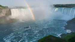 Quand les touristes des chutes du Niagara ressemblent à des
