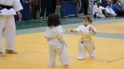 Le combat de judo le plus mignon du
