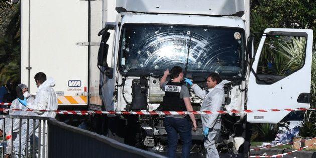 Le camion de l'auteur de l'attentat de Nice n'avait pas l'autorisation de circuler le 14