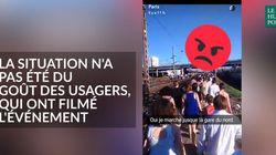 La pagaille de la Gare du Nord à Paris vue des réseaux
