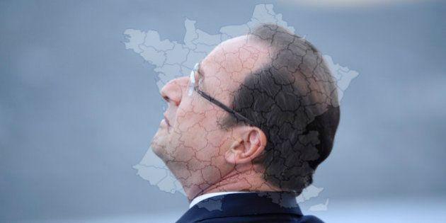 Réforme territoriale: Hollande joue son va-tout sur un projet délicat et