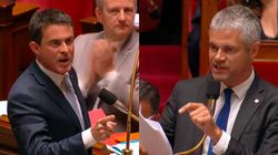 Échange tendu entre Valls et Wauquiez dans