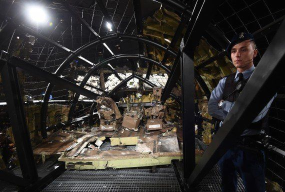 Le vol MH17 abattu par un missile BUK de fabrication