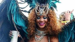 Rihanna en costume sexy enflamme