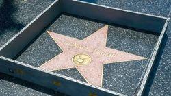 Il érige un mur miniature autour de l'étoile de